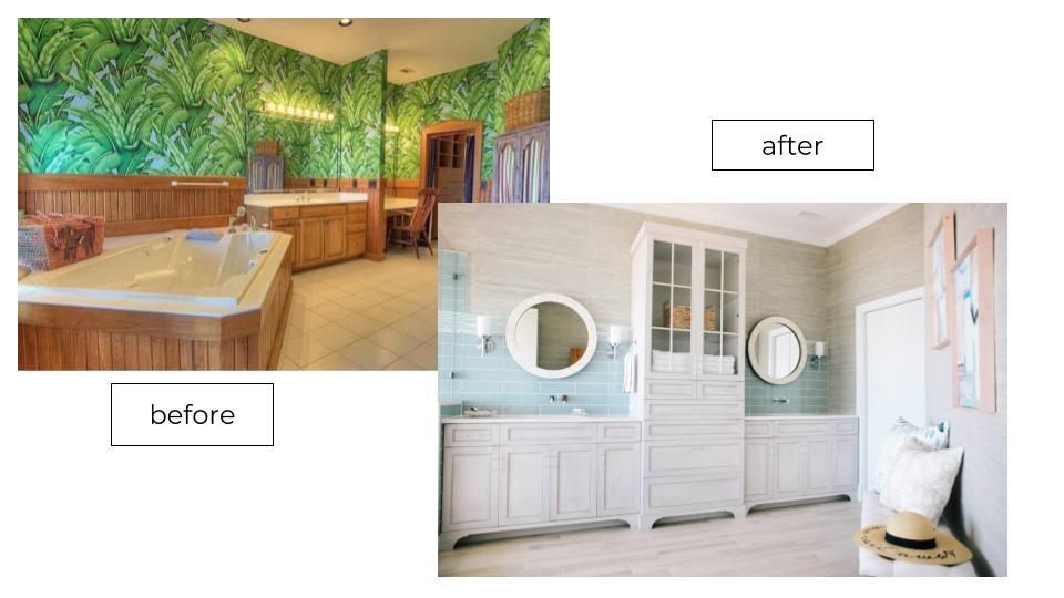 double vanity bathrrom designers wilmington nc