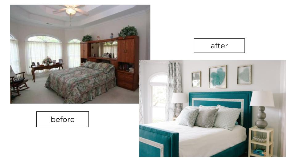 wrightsville beach coastal bedroom makeover