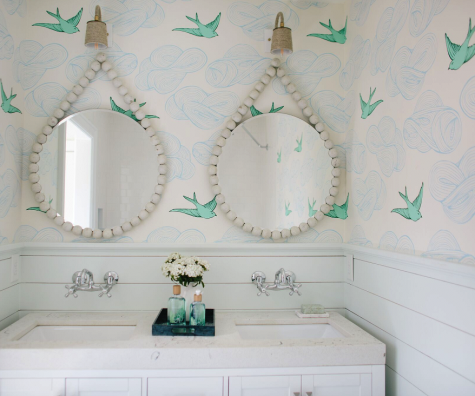 Let the Walls do the Work: Wallpaper Love