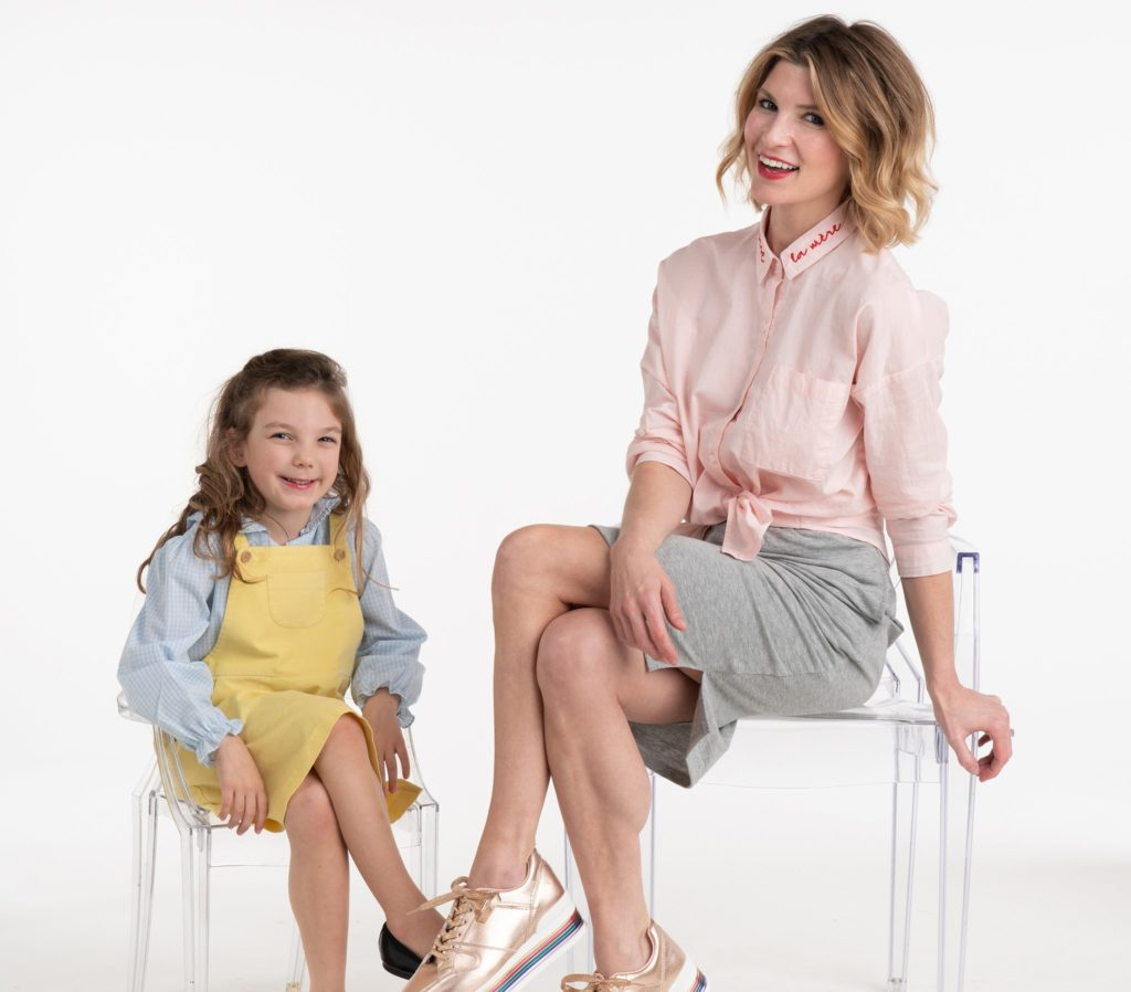 Morgan Hutchinson, Founder of BURU, with her daughter