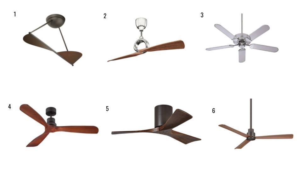 It's Getting Hot in Here: Ceiling Fan Roundup