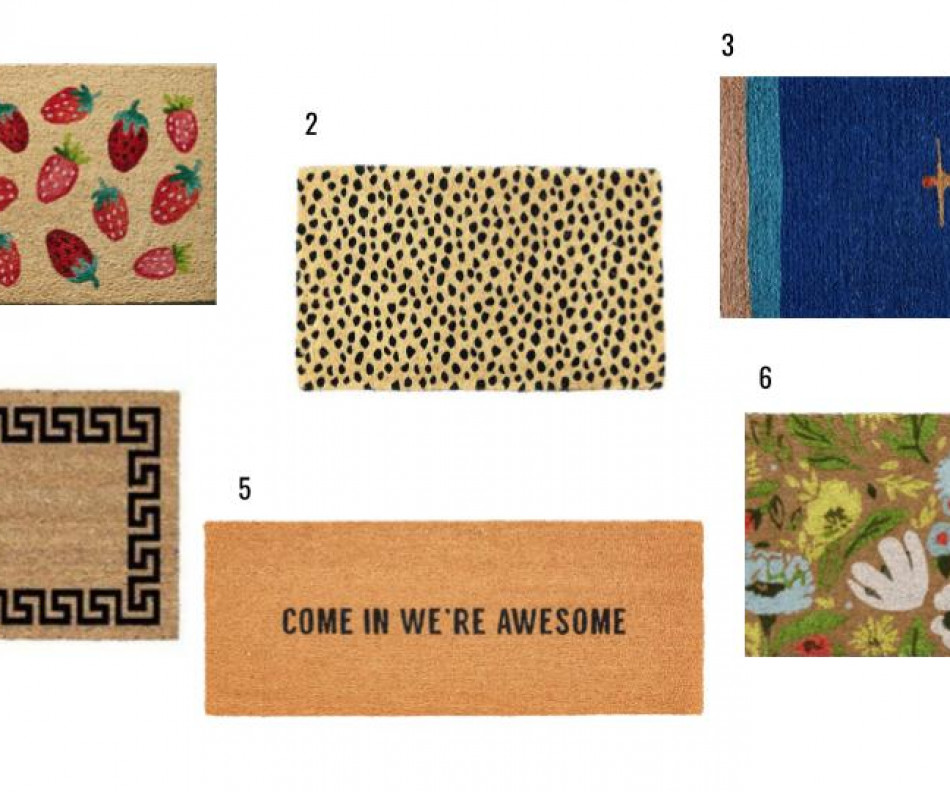 Make an Entrance: Our Favorite Doormats