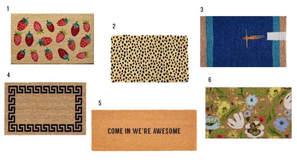 Make an Entrance: Our Favorite Doormats