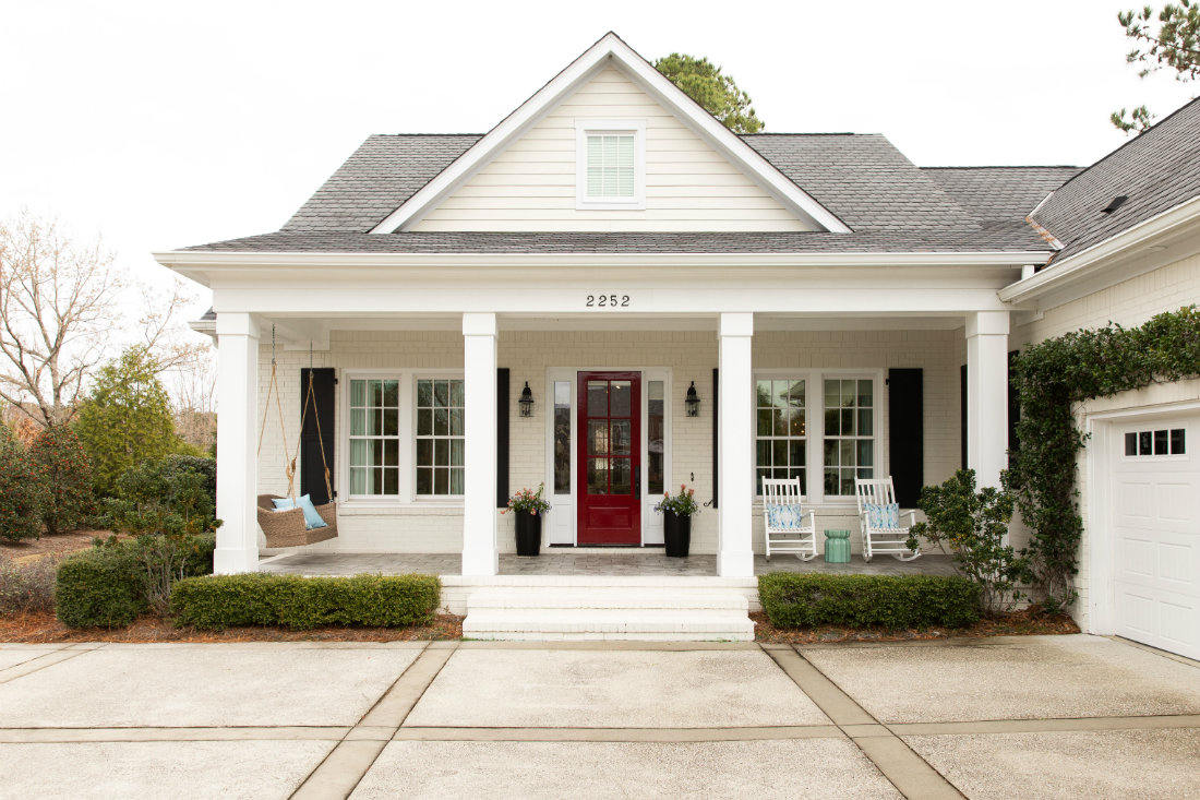wilmington-nc-beach-house-front-porch