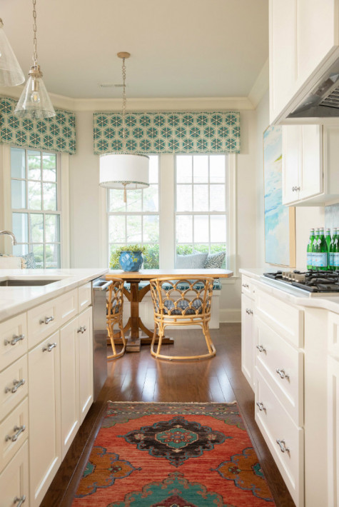 wilmington-nc-patterned-rug-galley-kitchen