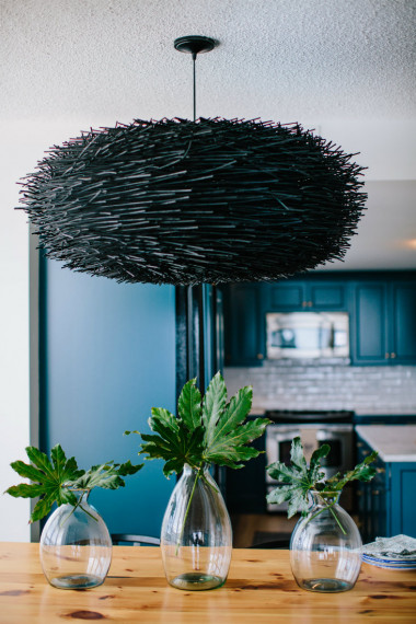 black-abstract-art-chandelier-hanging