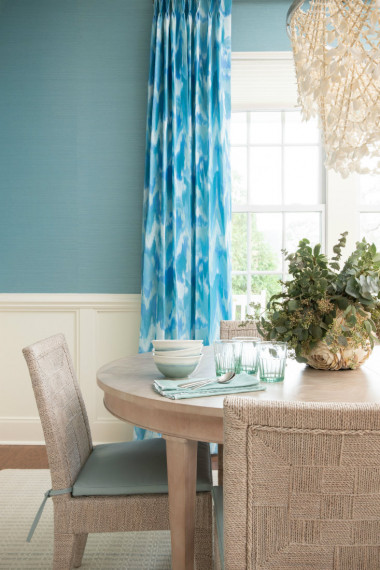 blue-curtains-dining-room-gathered