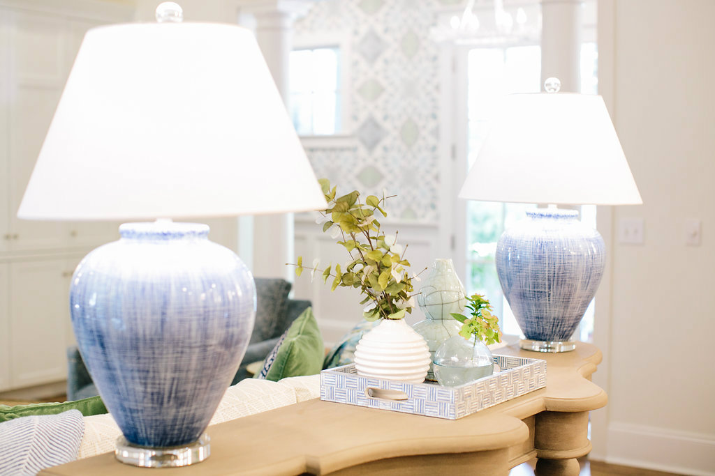 gathered-interior-design-accessories-blue-ceramic-lamps