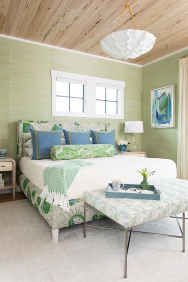 green-walls-beach-house-bedroom