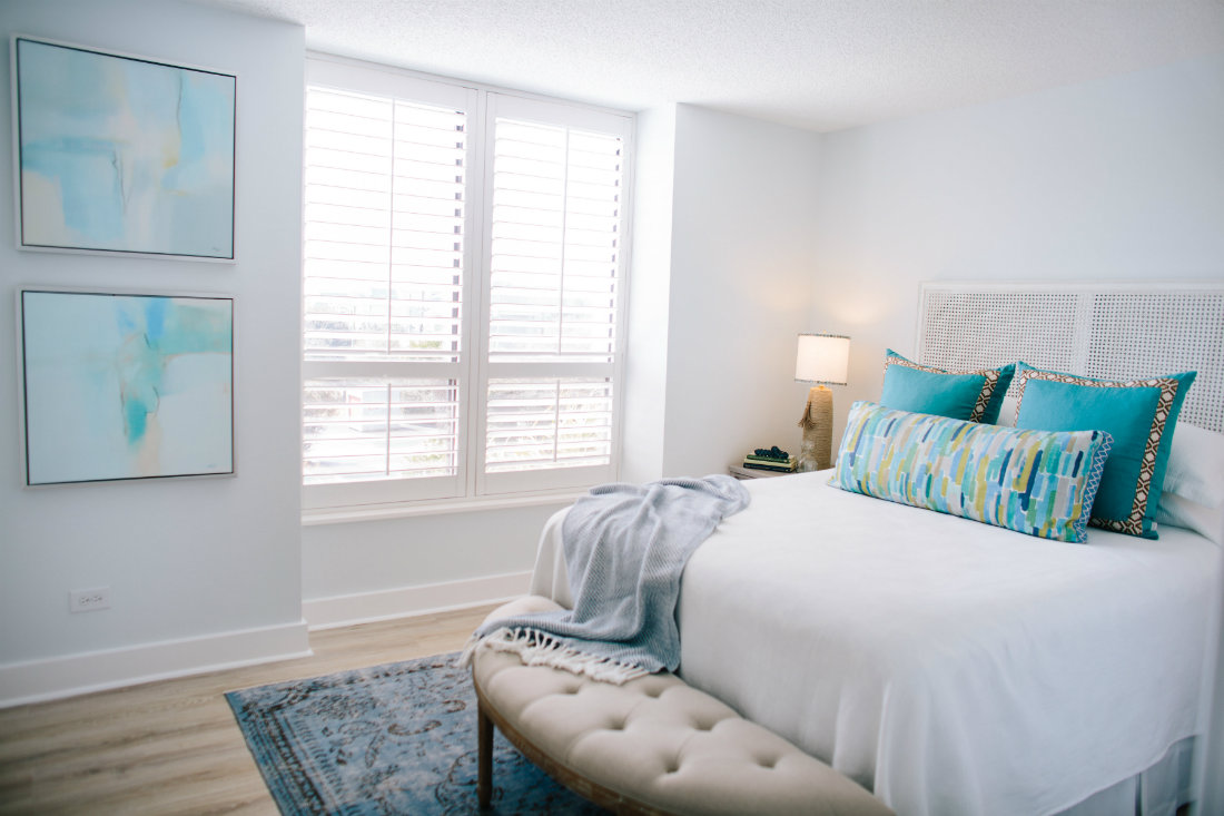 guest-bedroom-bench-wrightsville-beach-nc