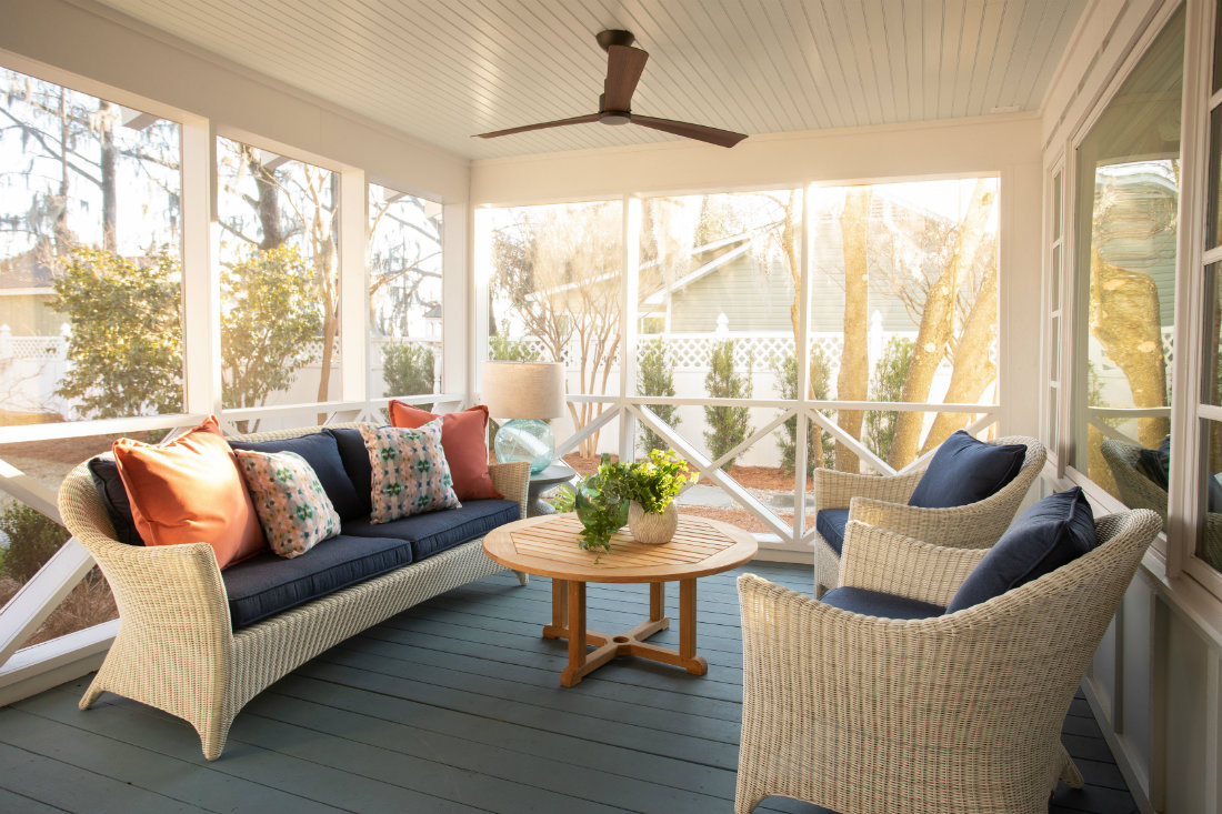 porch-seating-area-ceiling-fan-couch-chairs-table