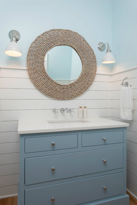 round-bathroom-mirror-drawers-marble-counter