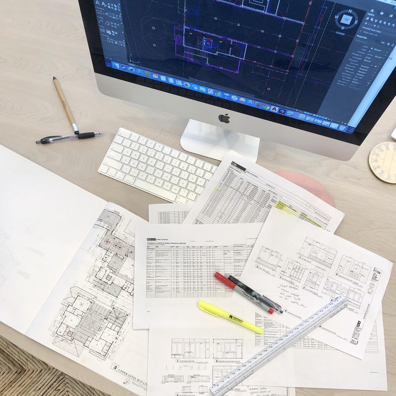 Gathered Group Blueprints Interior Design Process