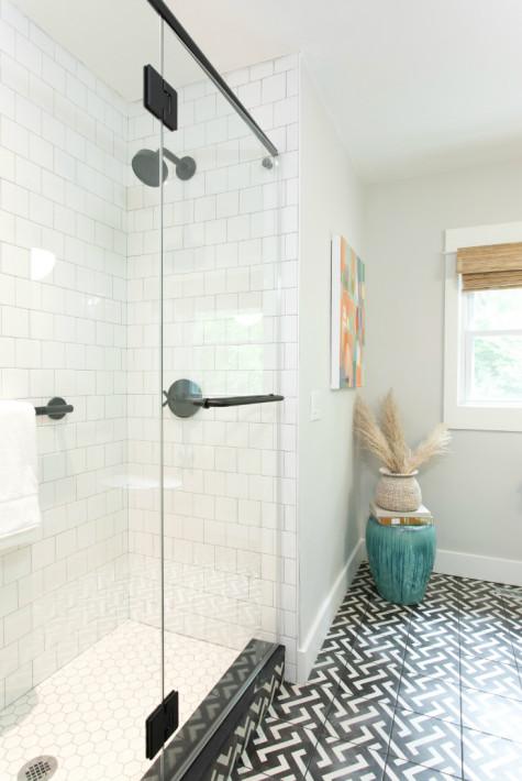 glass-shower-door-tile-floor-bathroom-chapel-hill-nc