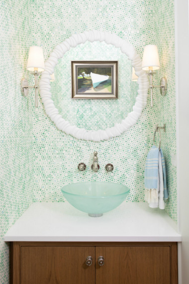 gathered-powder-room-interior-design-round-mirror-glass-bowl-sink