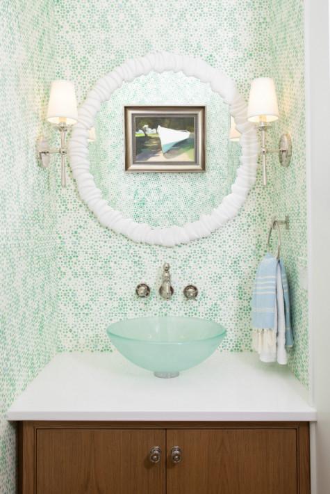 gathered-powder-room-interior-design-round-mirror-glass-bowl-sink