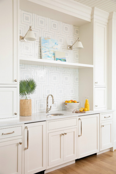 wet-bar-tile-backsplash-white-cabinetry-sconce-lighting-2