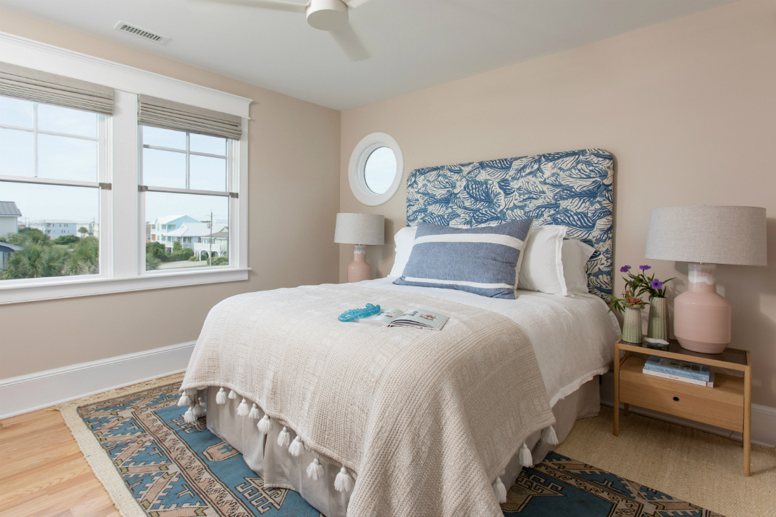Bedroom Interior Design Bedding Gathered Nc