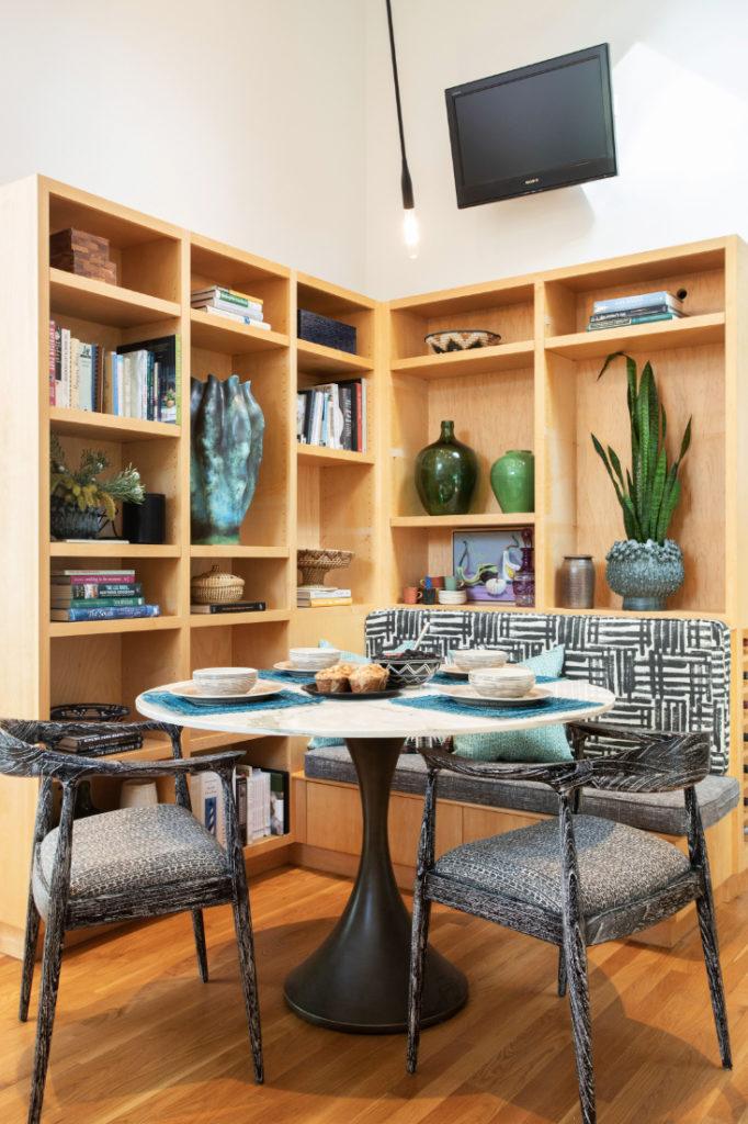 Bookshelves Gathered Interior Design