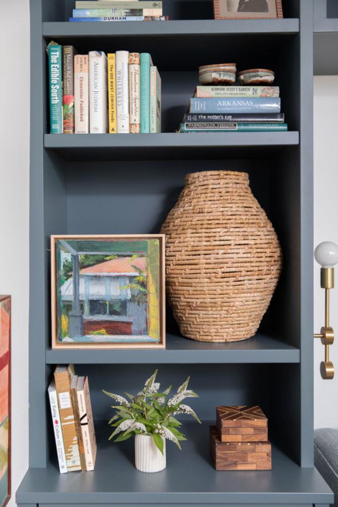 Gathered Bookshelf Texture