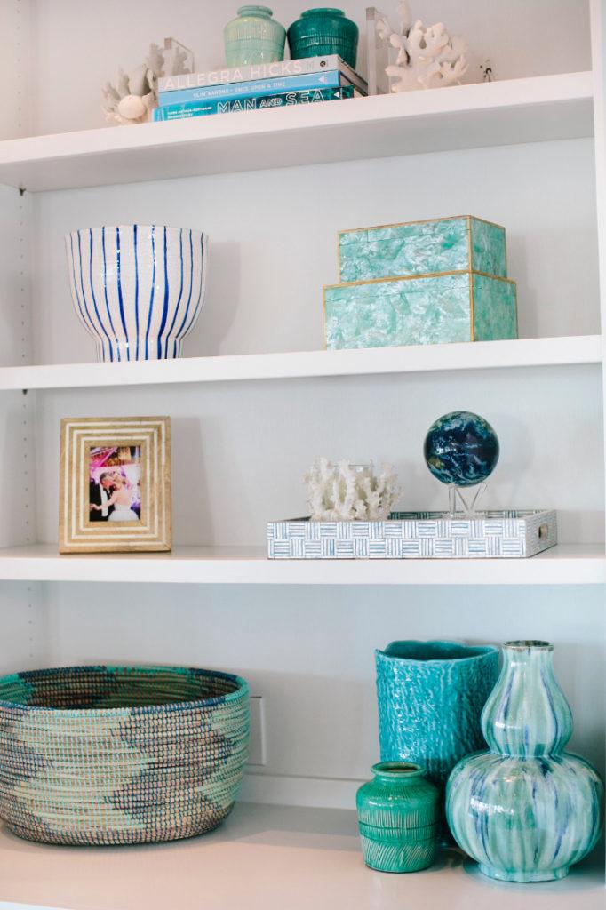Gathered Interior Deign Vase Shelf