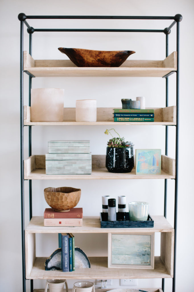 Gathered Interior Design Bookshelf Design