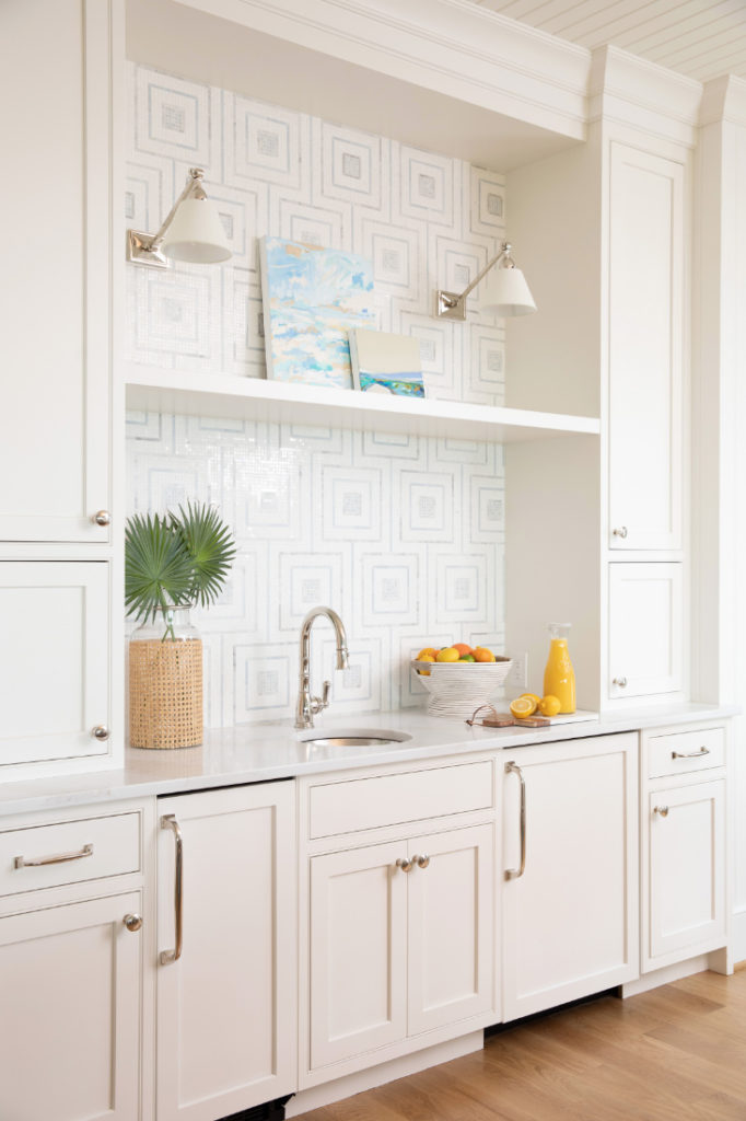 Gathered Interior Design Nc Wet Bar