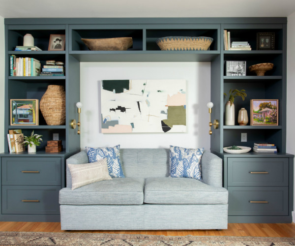 How to Style a Bookshelf Like a Pro