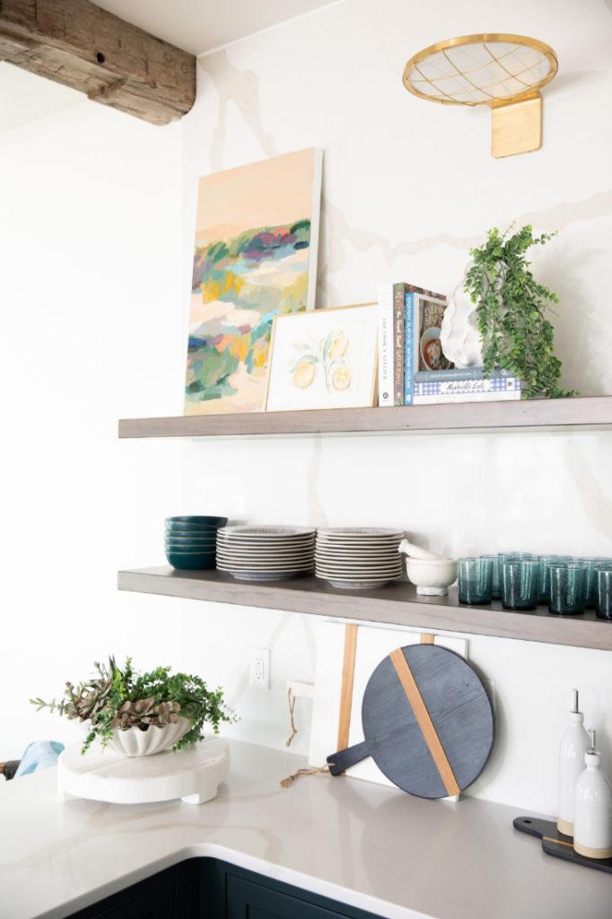 Shelf Design Gathered Interior Design