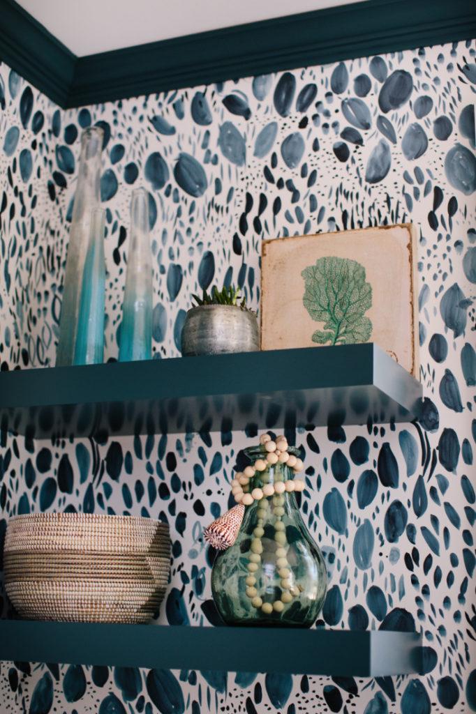 Vases Shelf Bookshelf Gathered Interior Design