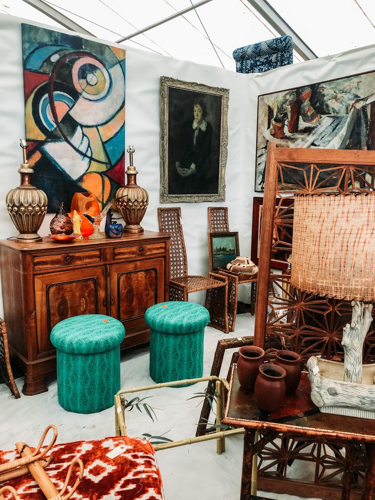 Round Top Tx Antique Fair Gathered Interior Design