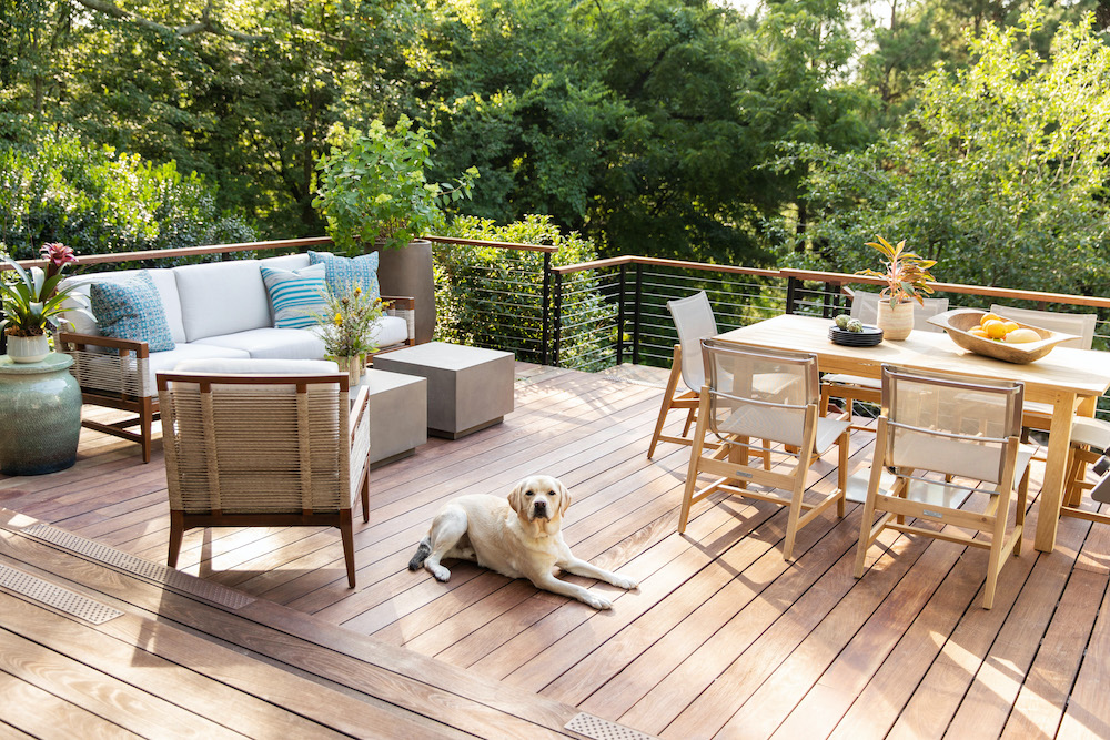Outdoor Patio Design Pet Friendly Materials Gathered Nc