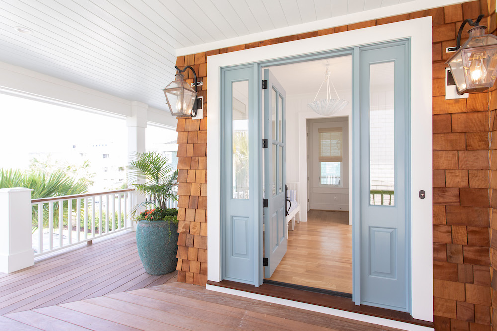 Front Door Paint Color Gathered Interior Design Nc