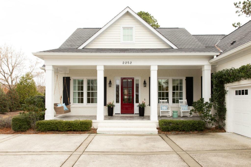 Wilmington Nc Beach House Front Porch 1